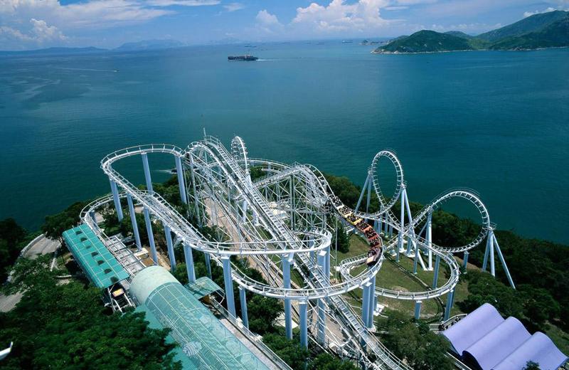 香港純玩2日海洋線 | 海洋公園+船游維港+金紫荊廣場+整天自由行