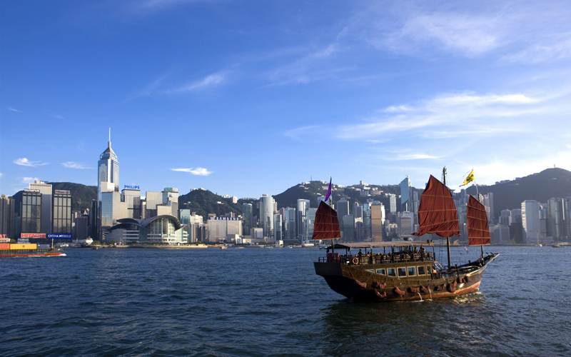 香港純玩1日觀光線 | 船游維港+太平山頂+金紫荊廣場+星光大道